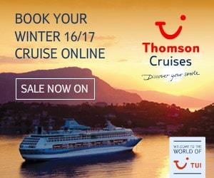 Thomson Cruise Winter 2016 / 2017 deals