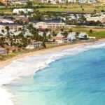 BASSETERRE, ST KITTS beach