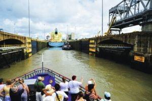 Panama Canal Tour Ferry - Marella  Panama Cruises Experience