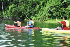 Kayaking on the Panama Canal Marella  Panama Cruises Experience