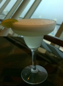 Drinks on board the Marella Discovery