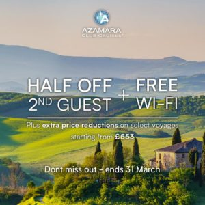 Azamara Club Cruises Share and Save