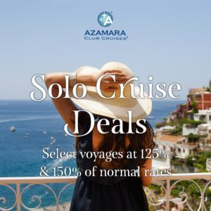 Azamara Club Cruises Solo Cruise Deals