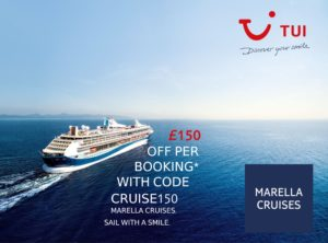 TUI Marella Cruise Deals 2019 / 2020 / 2021