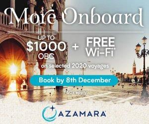 Azamara more onboard offer